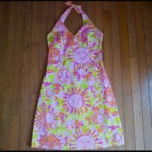 Lilly Pulitzer Stunning ☀️ Multi Sun Mosaic Dress